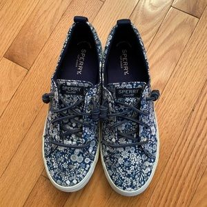 NEW Sperry Wmns Slip On Shoes Liberty Floral 8